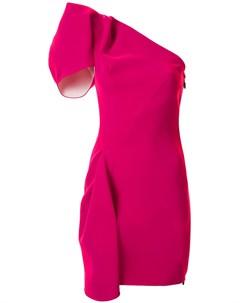 Платье на одно плечо Mimicry Maticevski