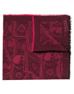 платок с принтом Dollar Philipp plein
