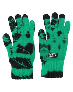 Трикотажные перчатки с узором тай дай Msgm