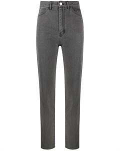 Узкие джинсы с завышенной талией David koma