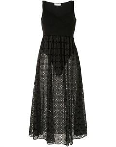 Платье с английской вышивкой Fleur du mal