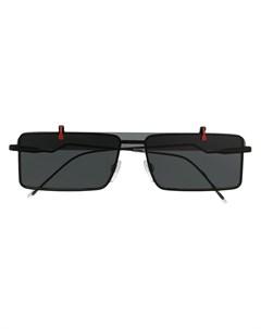 солнцезащитные очки с откидными линзами Emporio armani