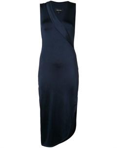 Облегающее платье с V образным вырезом Cushnie et ochs