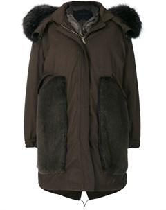 Пальто парка со съемной вставкой Blancha