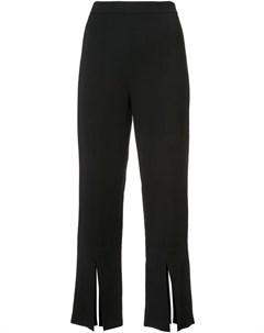 Укороченные брюки с разрезами снизу Cushnie et ochs
