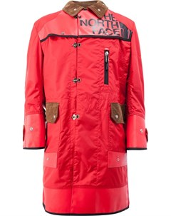 Двубортное пальто с принтом Junya watanabe comme des garçons man