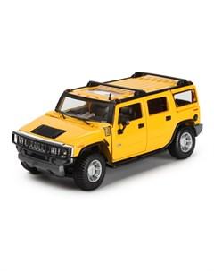 Машинка SP A 2003 HUMMER H2 SUV 1 27 желтый Maisto