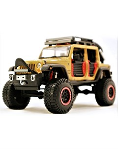 Машинка Design Off Road Kings Jeep Wrangler Unlimited 1 24 Maisto