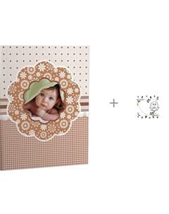 Фотоальбом Малыш на 104 фотографии и пеленка ZerO 99 Фотофон Brauberg
