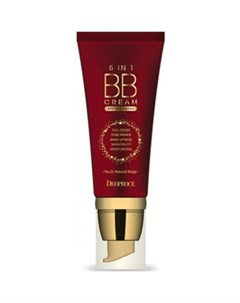 Бб крем deoproce 5 in 1 bb cream no 21 natural beige Deoproce