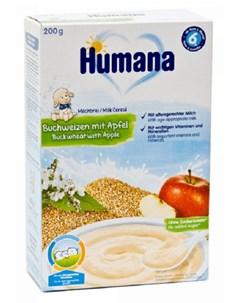 Каша молочная Гречка с яблоком 200гр Humana