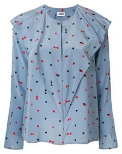 Блузка с карточными символами Sonia by sonia rykiel