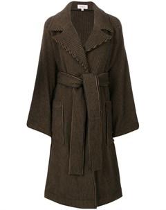 Пальто в полоску Isa arfen