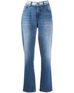 Прямые джинсы Karen с логотипом на поясе Jacob cohen