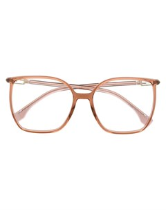 очки в прямоугольной оправе Fendi eyewear