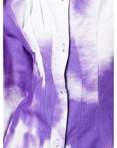 Двухцветная рубашка на пуговицах Ottolinger
