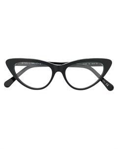 очки в оправе кошачий глаз Stella mccartney eyewear