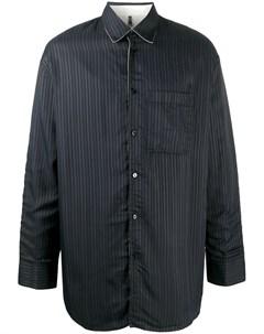 Рубашка в тонкую полоску Oamc