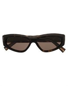 Солнцезащитные очки в квадратной оправе черепаховой расцветки Givenchy eyewear
