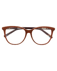 очки в оправе кошачий глаз Missoni eyewear