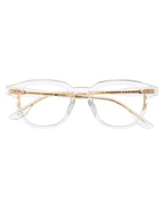 солнцезащитные очки в прозрачной квадратной оправе Dita eyewear