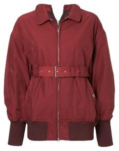 Приталенная куртка с поясом Le ciel bleu