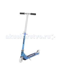Двухколесный самокат городской мигающие колеса Foxx