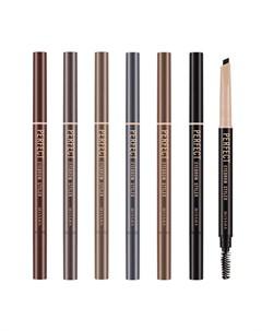 Карандаш для бровей Perfect Eyebrow Styler Цвет 3 Dark Brown Тёмно коричневый Missha