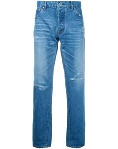 Укороченные зауженные джинсы Taakk