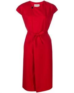 Платье миди с поясом Stephan schneider
