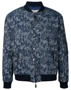 Куртка с абстрактным узором сеткой Casely-hayford
