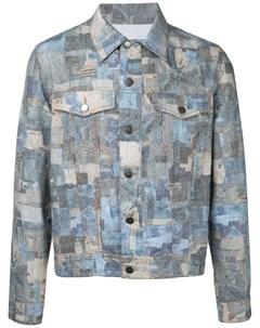 Куртка лоскутного кроя Casely-hayford
