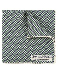 классический тканый шарф Gieves & hawkes