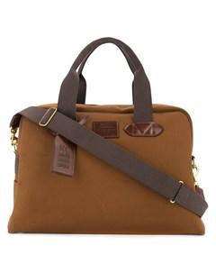 Дорожная сумка с контрастной отделкой Kent & curwen