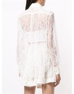Рубашка с манишкой Fleur du mal