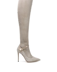 сапоги по колено на шпильке Giorgio armani
