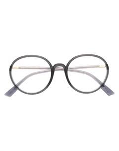 очки SoStellaire2 в круглой оправе Dior eyewear