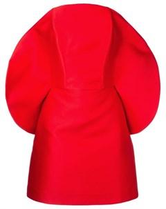 Коктейльное платье со скругленным вырезом Isabel sanchis