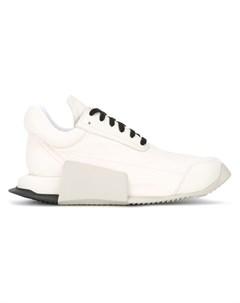 Кроссовки скульптурной формы Adidas by rick owens