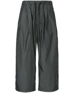 Укороченные брюки на шнурке 08sircus