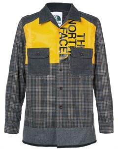 Клетчатая куртка рубашка Junya watanabe comme des garçons man