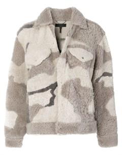 Камуфляжная куртка Rag & bone /jean