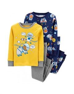 Пижама для мальчика 2 шт 2J084110 Carter`s