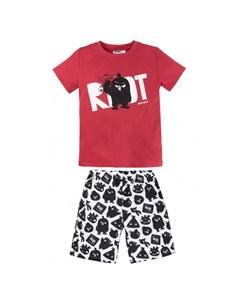 Пижама для мальчика футболка шорты Angry Birds Bossa nova