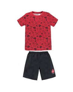 Пижама для мальчика футболка шорты Angry Birds 384АБ 171 Bossa nova