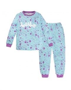 Пижама для девочки джемпер брюки Angry Birds Bossa nova