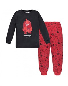 Пижама для мальчика джемпер брюки Angry Birds Bossa nova