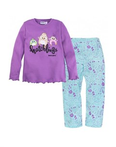Пижама для девочки джемпер брюки Angry Birds 361АБ 227 Bossa nova