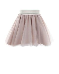 Розовая юбка из фатина детская Aletta