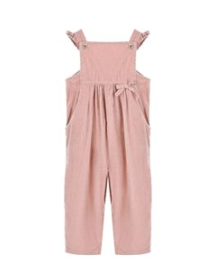 Розовый вельветовый полукомбинезон детский Aletta